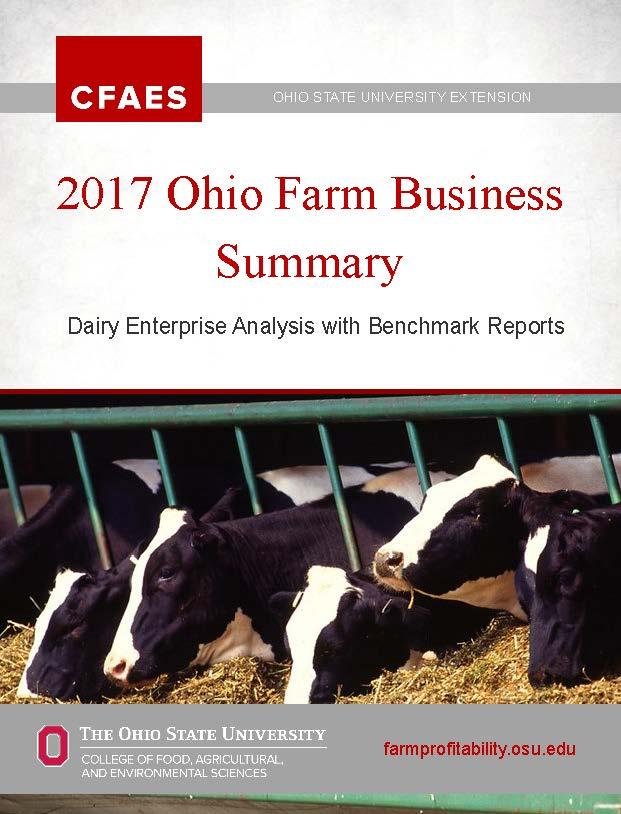 2017 Dairy Summary
